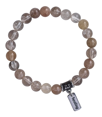 FORGIVENESS - Rutilated Quartz Healing Crystal Bracelet - zen jewelz
