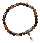 Sardonyx Bracelet FEED YOUR FOCUS - zen jewelz