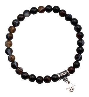 Sardonyx Bracelet HAPPINESS - zen jewelz