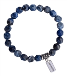 Sodalite Bracelet BREATHE - zen jewelz