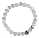 Selenite Bracelet WHITE LIGHT - zen jewelz by ZenJen
