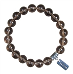 BELIEVE - Smokey Quartz Healing Crystal Bracelet - zen jewelz