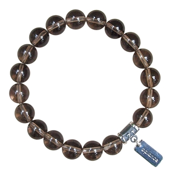 Smokey Quartz Bracelet BELIEVE - zen jewelz