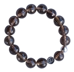 BE FOCUSED - Smokey Quartz Healing Crystal Bracelet - zen jewelz