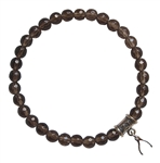 Smokey Quartz Bracelet MAKE A WISH - zen jewelz