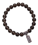 MAKE A WISH - Smokey Quartz Healing Crystal Bracelet - zen jewelz