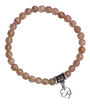 Strawberry Quartz Bracelet EUPHORIA - zen jewelz