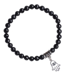 Black Spinel Bracelet ENERGY RENEWAL - zen jewelz