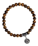 Tiger Eye Healing Crystal Stretch Bracelet - zen jewelz