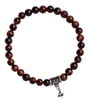 Red Tiger Eye Bracelet POWER - zen jewelz