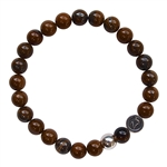 Tiger Iron Healing Crystal Bracelet - zen jewelz