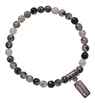 Tourmalinated Quartz Bracelet INNER STRENGTH - zen jewelz