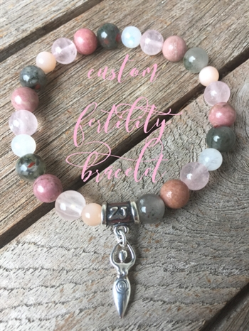 Custom Fertility Bracelet