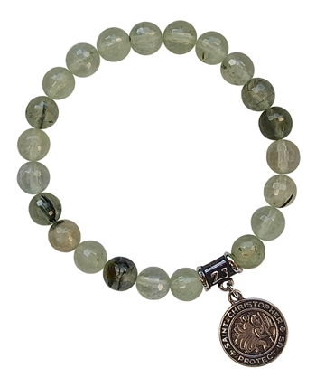 ST. CHRISTOPHER MEDAL Bracelet - zen jewelz