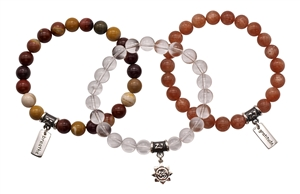 ANTI-AGING HEALING CRYSTAL BRACELET BUNDLE - zen jewelz