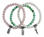 FERTILITY BUNDLE - Healing Crystal Bracelets - zen jewelz
