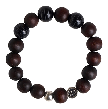 Wood Bracelets & Tribal Agate - zen jewelz