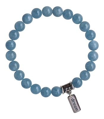 Aquamarine Bracelet DREAM - zen jewelz by ZenJen