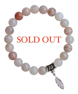 Chalcedony Bracelet FILLED WITH LOVE