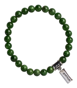 Chrome Diopside Bracelet FORGIVENESS - zen jewelz