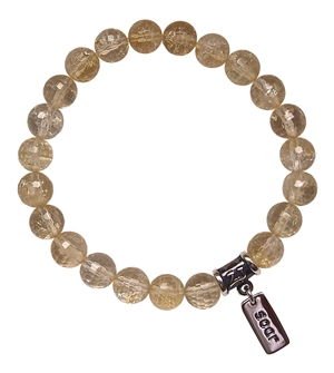 Citrine Bracelet THRIVE - zen jewelz