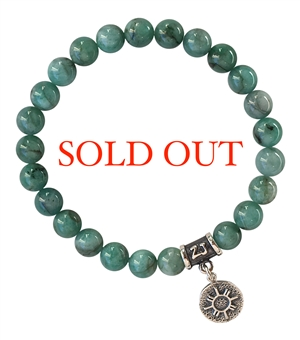 EMERALD Bracelet LOVE & BE LOVED - zen jewelz