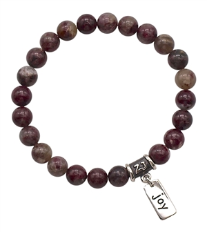 Eudialyte Bracelet HAPPINESS - zen jewelz