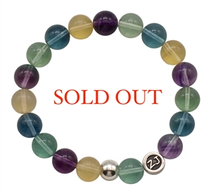 Fluorite Bracelet POWERFUL ALIGNMENT - zen jewelz