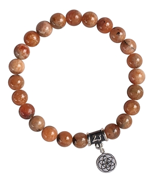 Lithiophilite Bracelet FRIENDSHIP - zen jewelz