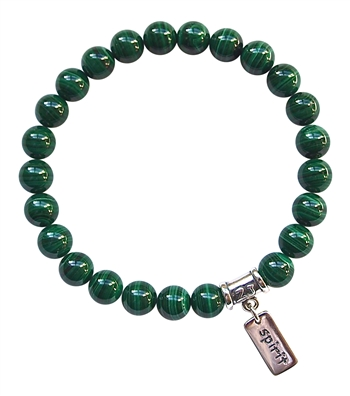 Malachite Bracelet SPIRITUAL CLEANSING - zen jewelz