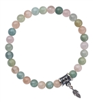 RADIATE LOVE - Morganite Luxury Healing Crystal Bracelet - zen jewelz