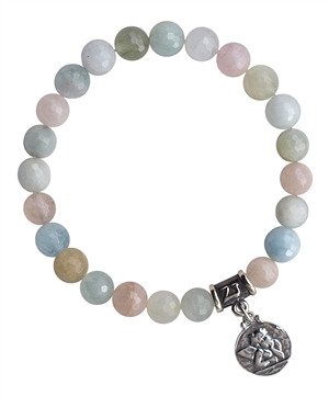 Morganite Bracelet DIVINE LOVE - zen jewelz