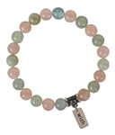 WISH - Morganite Luxury Healing Crystal Bracelet - zen jewelz