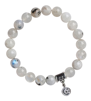NEW BEGINNINGS - Moonstone Healing Crystal Bracelet - zen jewelz