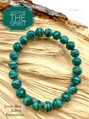 Amazonite Bracelet SOOTHE THE SPIRIT - zen jewelz