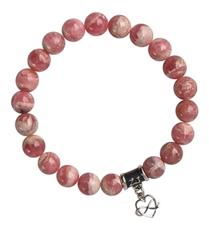Rhodochrosite Bracelet LITTLE BLESSINGS - zen jewelz