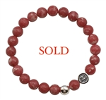 Rhodonite Bracelet BLOOM WILDLY - zen jewelz