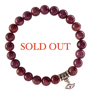 PROTECTION - Ruby Healing Crystal Bracelet - zen jewelz
