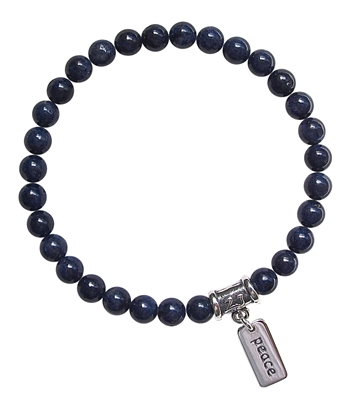 Blue Sapphire Bracelet NEW JOURNEY - zen jewelz
