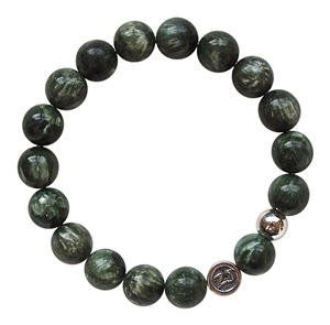 Seraphinite Bracelet OPEN TO LOVE - zen jewelz