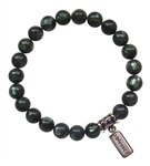 SELF HEALING - Seraphinite Healing Crystal Bracelet - zen jewelz