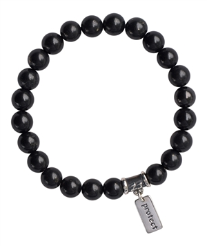 Shungite Bracelet SPIRITUAL WARRIOR - zen jewelz