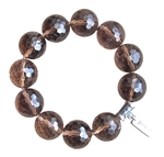 BE SUCCESSFUL - Smokey Quartz Healing Crystal Bracelet - zen jewelz