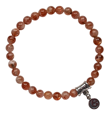 NURTURE YOURSELF - Sunstone Healing Crystal Bracelet - zen jewelz