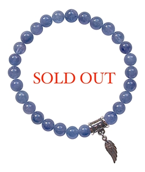 Tanzanite Bracelet CONNECT WITH YOUR ANGELS - zen jewelz