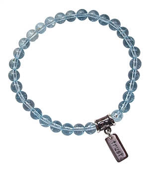 Blue Topaz Bracelet SELF DISCOVERY - zen jewelz