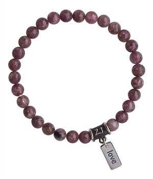 Pink Tourmaline Bracelet SELF LOVE - zen jewelz