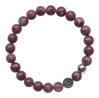 Pink Tourmaline Bracelet LOVE - zen jewelz