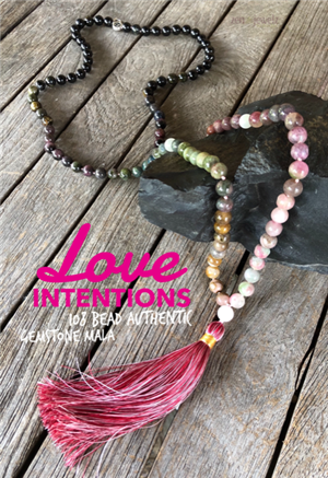 One of a Kind Handmade Mala Necklace