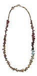 Rainbow Sapphire Necklace ALL THAT YOU NEED - zen jewelz